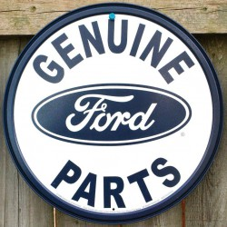 plaque genuine ford parts...