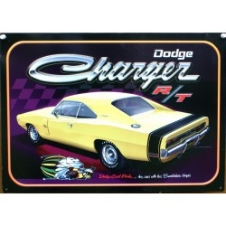 plaque dodge charger R/T...