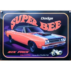 plaque dodge super bee...