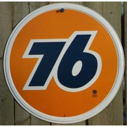plaque 76 oil huile affiche...