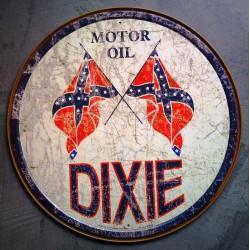 plaque dixie motor oil...