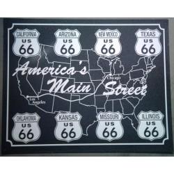 plaque route 66 america's...