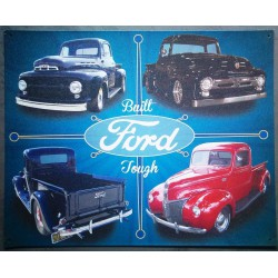 plaque ford pick up F100...