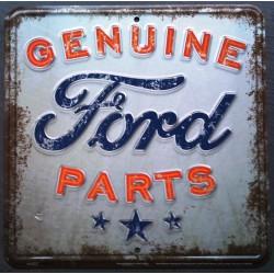 plaque ford genuine parts...