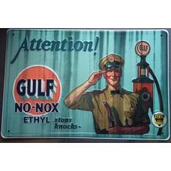 plaque gulf no nox pompiste...