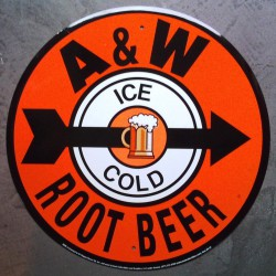 plaque A & W root beertole...