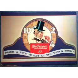 plaque coca dr pepper homme...