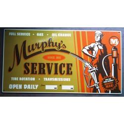 plaque murphy's service...