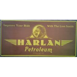 plaque harlan petroleum...