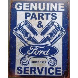 plaque ford parts & service...