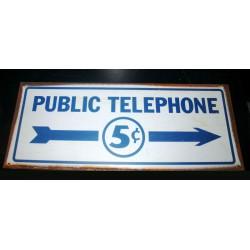 plaque public téléphone 5...