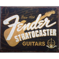 plaque fender stratocaster...