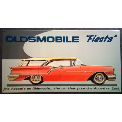plaque oldsmobile fiesta...