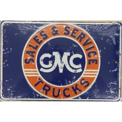 plaque gmc  sales service...