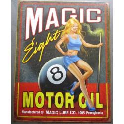 plaque magic 8 ball motor...
