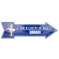 plaque fleche ford mustang...
