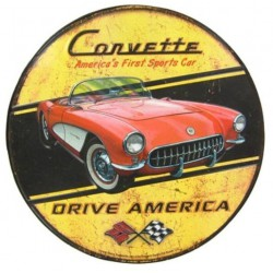 plaque corvette drive...