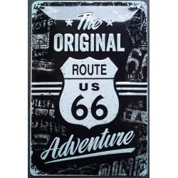 plaque route 66 original...