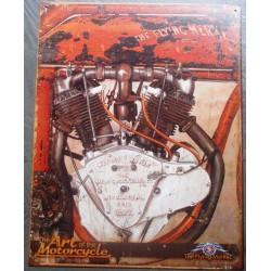 plaque moto moteur the art...