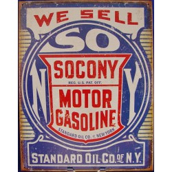 plaque socony we sell tole...
