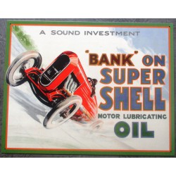 plaque shell auto super...