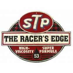 plaque STP racer's edge...