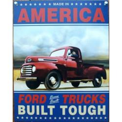 plaque america ford trucks...