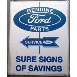 plaque ford parts sure...