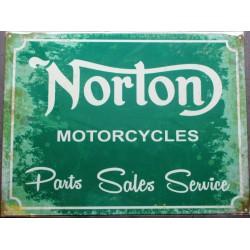 plaque norton motorcycles...