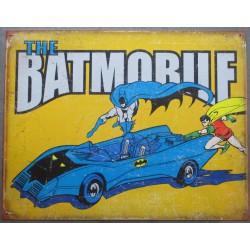 plaque super hero batmobile...
