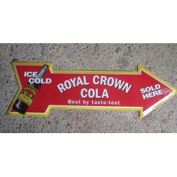 plaque fleche coca royal...