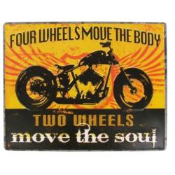 plaque 4 wheels move the...