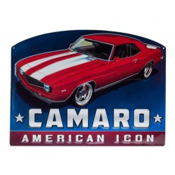 plaque camaro american icon...