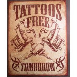 plaque tattoo free tomorrow...