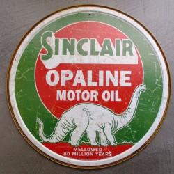 plaque sinclair opaline...