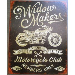 plaque motorcycle club...