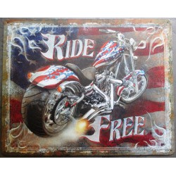 plaque ride free moto...