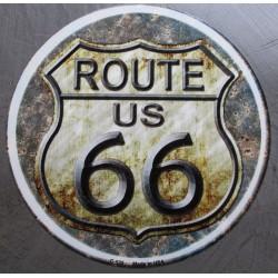 plaque route 66 ronde...
