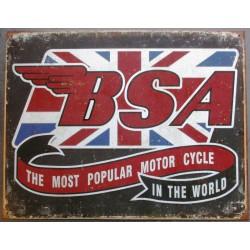 plaque BSA logo the most...
