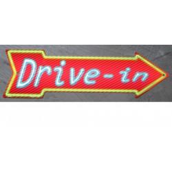 plaque fleche drive in...