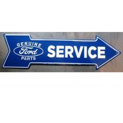 plaque fleche ford service...
