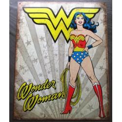 plaque super hero sexy...