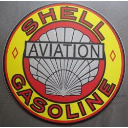 plaque shell aviation...