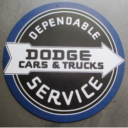plaque dodge dependable...