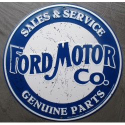 plaque ford motor co ronde...