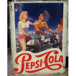 plaque pepsi cola  pinup...