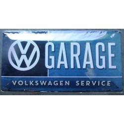 plaque vw garage en relief...