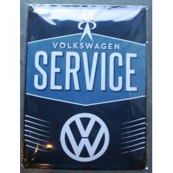 plaque volkswagen service...
