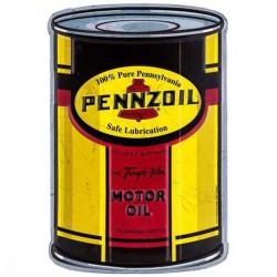 plaque pennzoil motor oil...