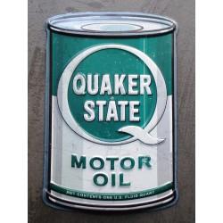 plaque quaker state motor...